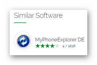 Программа MyPhoneExplorer