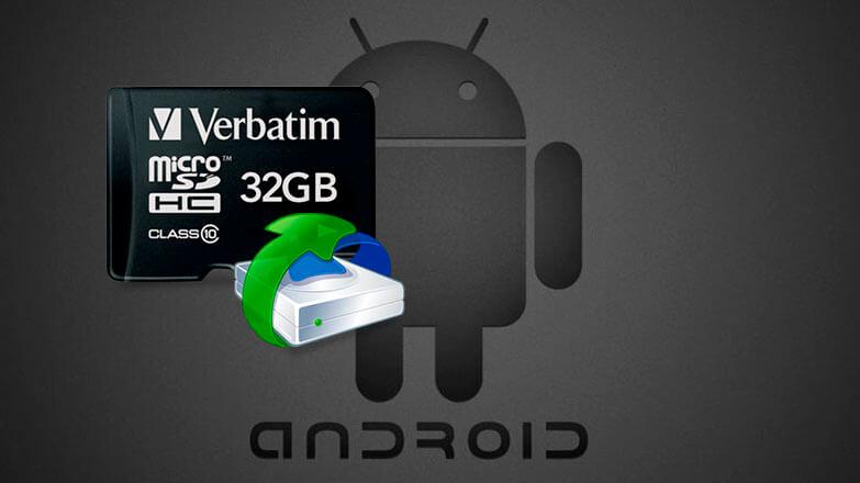 Восстановление поврежденной карты памяти на Android