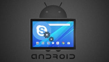 Настройка Скайпа на планшете Android