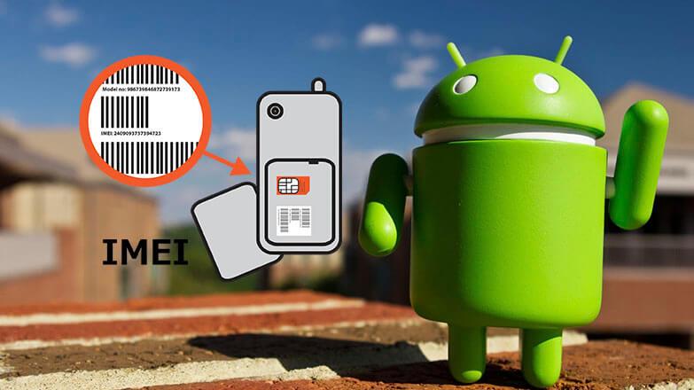 Поменять IMEI на Android