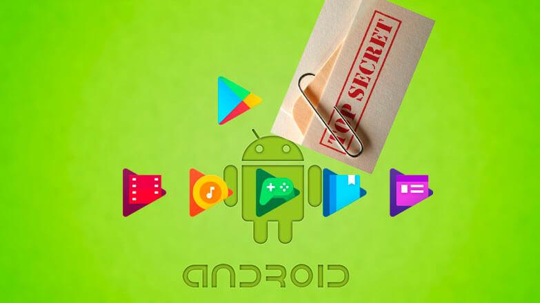 Скрытые приложения на Android