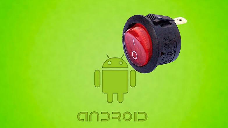 переназначение кнопки включения на андроид