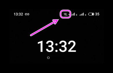 Уровень сигнала WiFi