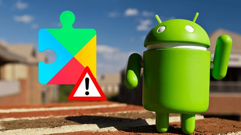 Что делать если приложение Сервисы Google Play остановлено