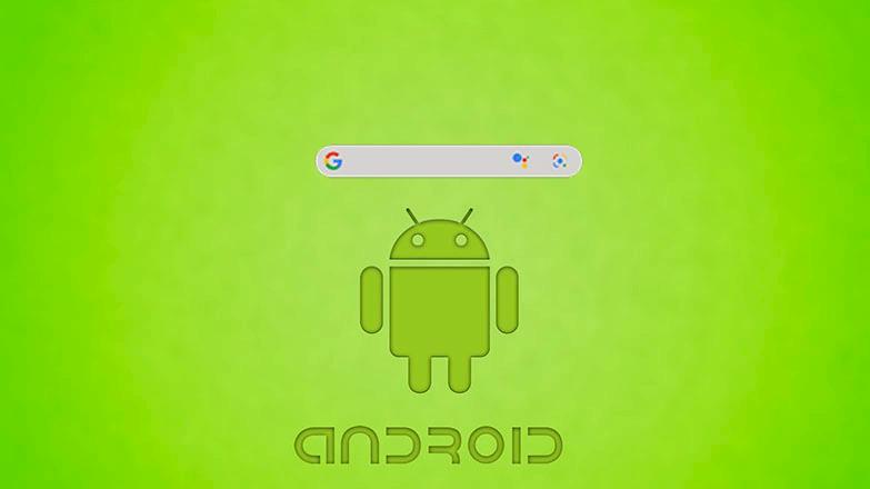 Как убрать поисковую строку Google в Android