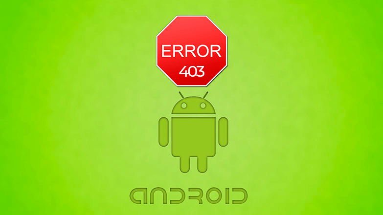 Play Market код ошибки 403